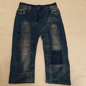 Pants - Jean Print Legging